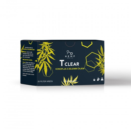 Hemp Medica T Clear čaj, 25 filter vrečk