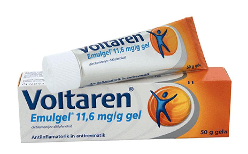 Voltaren Emulgel 11,6 mg/g, gel, 100 g