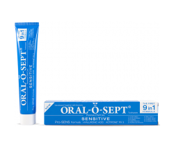 Oral-o-sept Sensitive, zobna pasta, 75 ml