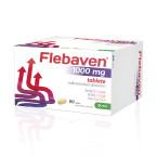 Flebaven 1000 mg, 90 filmsko obloženih tablet