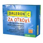 Daleron C za otroke 120 mg/10 mg, zrnca za peroralno suspenzijo, 20 vrečk