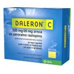 Daleron C 500 mg/20 mg, zrnca za peroralno raztopino, 24 vrečk