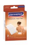 Hansaplast Therapeutic Heat Pad, terapevtski toplotni obliži - veliki, 2 obliža