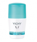 Vichy Anti-Trace, roll-on dezodorant proti belim sledem in rumenim madežem, 50 ml