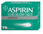 Aspirin 500 mg, 20 obloženih tablet
