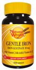 Natural Wealth Železo 18 mg, 100 kapsul