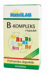 Nutrilab B kompleks, 60 kapsul