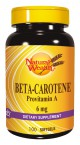 Natural Wealth Beta karoten 6 mg, 100 mehkih kapsul