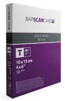 Bapscarcare T, silikonski obliž, 10 X 15 cm, 1 kos