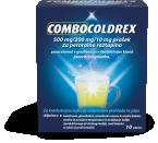 Combocoldrex 500 mg/200 mg/10 mg, prašek za peroralno raztopino, 10 vrečk