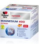 Doppelherz System Magnezij 400 Citrat, 6 g x 40 vrečk