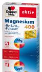 Doppelherz Aktiv Magnezij 400 + B1 + B6 + B12 + folna kislina, 30 tablet