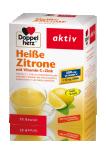 Doppelherz Aktiv Limona + vitamin C + cink, vroči napitek, 10 vrečk
