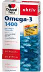Doppelherz Aktiv Omega-3 1400 mg, 30 kapsul