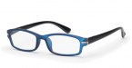 Filtral bralna očala F45409 (+2,5), modra - črna