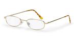 Filtral bralna očala F45018 (+1,0), zlata