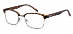 Filtral bralna očala F45629 (+2,5), rjava