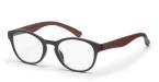 Filtral bralna očala F45421 (+2,5), črna - rjava