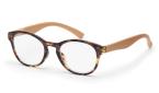 Filtral bralna očala F45430 (+1,0), rjava - bež