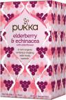 Pukka Elderberry & Echinacea, ekološki čaj, 20 vrečk