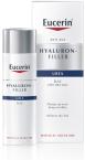 Eucerin Hyaluron-Filler Urea dnevna krema za suho kožo, 50 ml