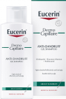 Eucerin DermoCapillaire, šampon proti mastnemu prhljaju, 250 ml
