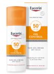 Eucerin Sun Oil Control Dry Touch, zaščitni kremni gel za obraz - ZF 50+, 50 ml