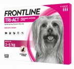 Frontline Tri-Act, kožni nanos- za pse 2 - 5 kg, pipeta 3 X 0,5 ml