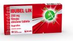 Ibubel Lin 200 mg,10 filmsko obloženih tablet