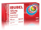 Ibubel 125 mg, 10 svečk
