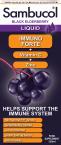 Sambucol Immuno Forte, tekoči izvleček črnega bezga, 120 ml