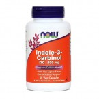 NOW Indol-3-karbinol, 60 kapsul