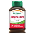Jamieson Magnezij 250 mg, 90 kapsul