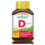 Jamieson Vitamin D 1000 IU/25μg, 180 kapsul