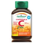Jamieson Vitamin C 500 mg, 120 žvečljivih tablet