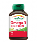 Jamieson Omega-3 Select Mini, 200 kapsul