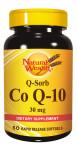Natural Wealth Koencim Q10 30 mg, 50 mehkih kapsul