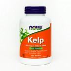 NOW Kelp 150 µg, 200 tablet