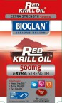 Bioglan Rdeče krilovo olje extra 500 mg, 30 kapsul