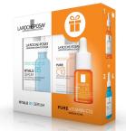 La Roche-Posay Hyalu B5 serum, 30 ml + DARILO Pure Vitamin C10 serum, 10 ml