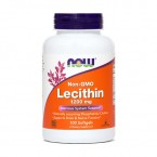 NOW Lecitin 1200 mg, 100 mehkih kapsul