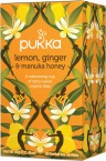 Pukka Lemon, Ginger & Manuka Honey, ekološki čaj, 20 vrečk