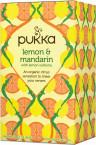 Pukka Lemon & Mandarin, ekološki čaj, 20 vrečk