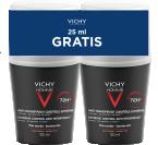 Vichy Homme, dezodorant za občutljivo kožo, 2x50 ml