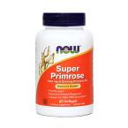 NOW Super svetlinovo olje 1300 mg, 60 mehkih kapsul