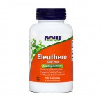 NOW Eleuthero 500 mg, 100 kapsul