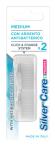 Silver Care Pharma Medium, nadomestni nastavki za zobne ščetke,  2 kosa