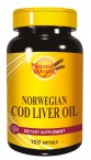 Natural Wealth Norveško polenovkino olje, 100 mehkih kapsul