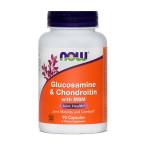 NOW Glukozamin & Hondroitin z MSM, 90 kapsul