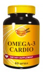 Natural Wealth Omega 3 Kardio, 60 mehkih kapsul